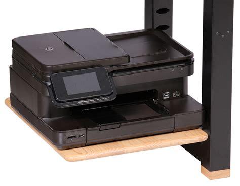 desk with printer shelf large shelf for loft desk ash caretta workspace