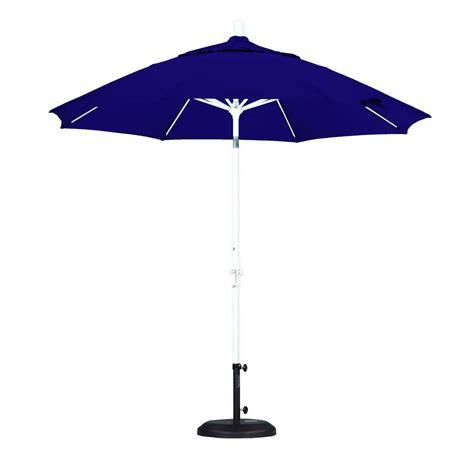 Purple Patio Umbrella California Umbrella 9 Ft Fiberglass Collar Tilt Patio Umbrella In Purple Pacifica Gscuf908170