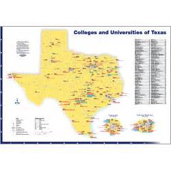 texas colleges map hedberg maps inc custom college city regional and specialty maps