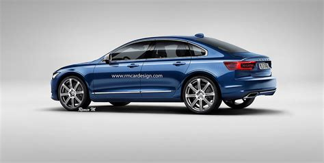 Volvo S 60 by 2018 Volvo S60 Rendered Photos 1 Of 3