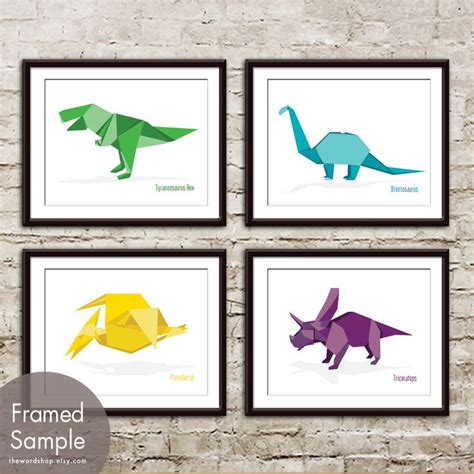 dinosaur origami set 86 best images about ink on tiny