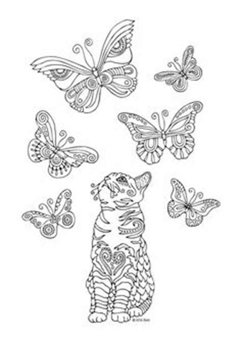 animal coloring pages  adult coloring dog cat