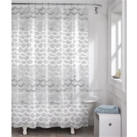shower curtain silver buy white silver shower curtain from bed bath beyond