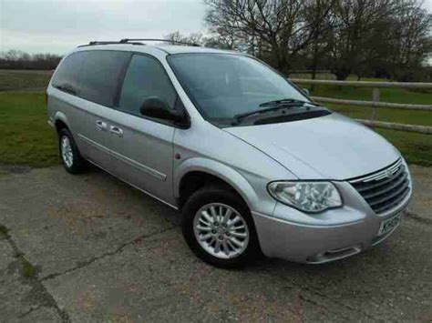 chrysler 2006 grand voyager lx auto silver car for sale