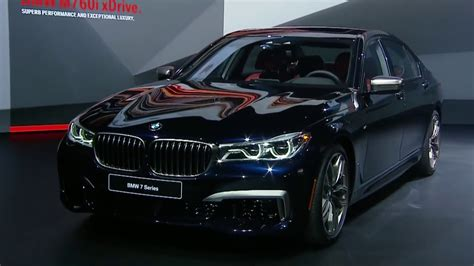 luxury bmw 7 series 2018 bmw 7 series m760i top 5 fastest luxury cars