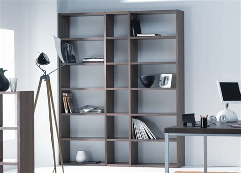pombol large contemporary bookcase bookcases modern
