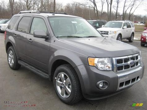 2011 Ford Escape Limited 2011 ford escape limited in sterling grey metallic