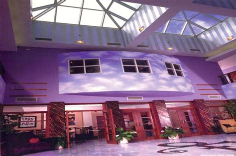 Mirror Murals Walls inside paisley park where prince s brilliant purple reign