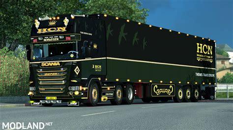 euro truck simulator 2 mods download free full version pc scania hcn trailer mod for ets 2