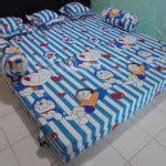 Ranjang Doraemon sofa ranjang inoac doraemon putih biru dtfoam