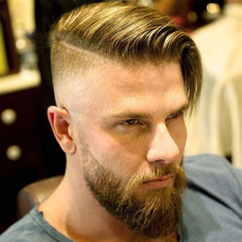 undercut with beard undercut with beard