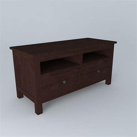 hemnes tv bench hemnes tv bench free 3d model max obj 3ds fbx stl
