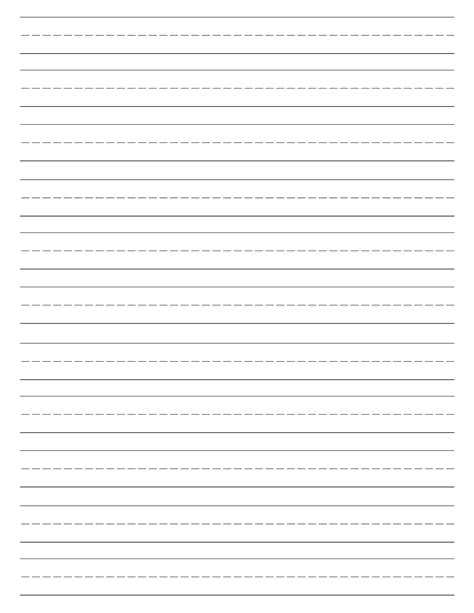 printable handwriting paper free printable lined paper handwriting paper template