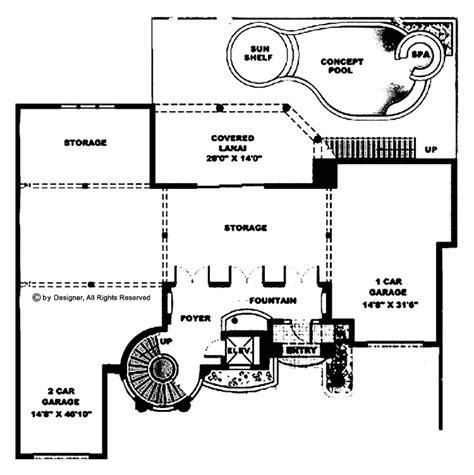floorplans com mediterranean style house plan 4 beds 4 5 baths 6162 sq
