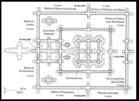 angkor wat floor plan 199 angkor the temple of angkor wat the city of angkor