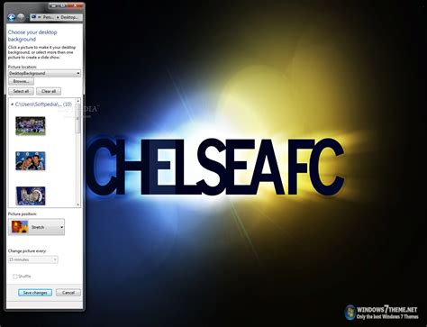themes songs free download chelsea windows 7 theme with theme song download