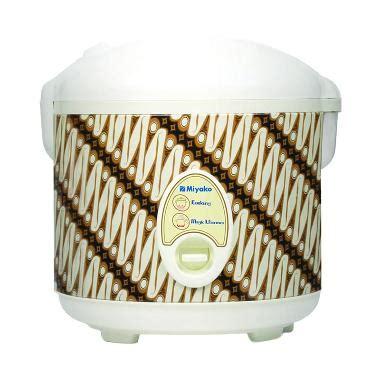 Miyako Rice Cooker Mcm 508 1 8 L jual miyako mcm 508 motif batik parang rice cooker 1 8 l harga kualitas terjamin