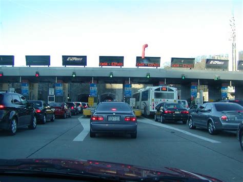 lincoln tunnel toll cost to the east coast