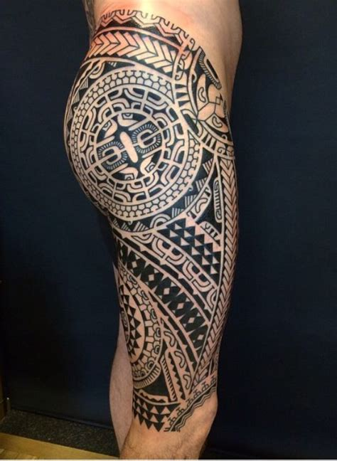rock tribal tattoo 46 best calf images on ideas