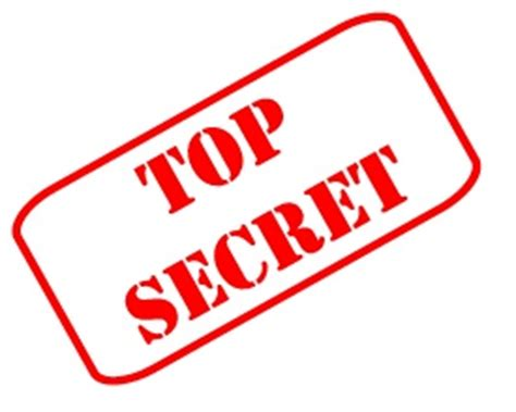 secret will top secret by the book