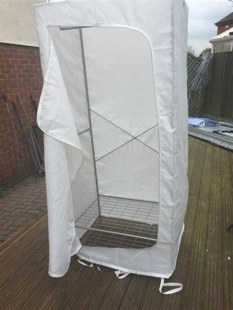 upholstery fabric ikea ikea breim fabric wardrobe in east leake leicestershire