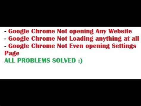 Google Images Not Opening | google chrome not loading opening any website solved not