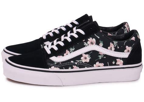 Vans Skool Aloha Flower Motif vans skool vintage floral chaussures chaussures