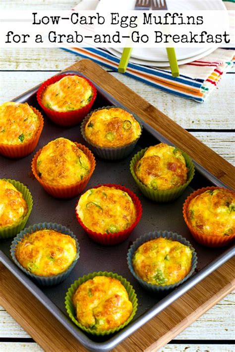 Diet Foods Muffins by Low Carb Egg Muffins For A Grab And Go Breakfast Kalyn S