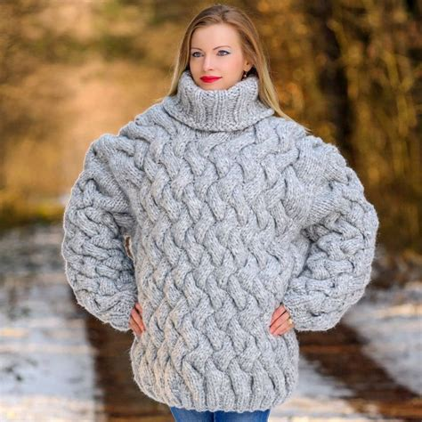 thick knit sweater heavy wool cardigan outdoor jacket