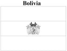 Bolivia Flag Coloring Pages Flag Of Bolivia Coloring Page