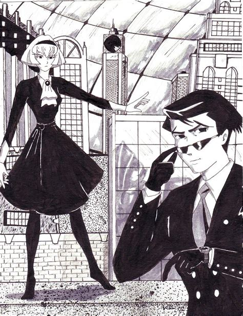 big o figure big o roger and dorothy by lithium delusions on deviantart