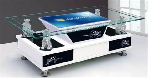 diy touchscreen coffee table infrared multi interactive table touch screen coffee table