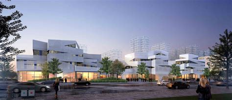 How To Organize Your Office gallery of jiading office complex damian donze tongji
