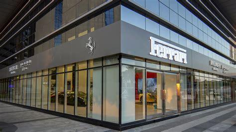 premier motors previews dedicated ferrari showroom  abu