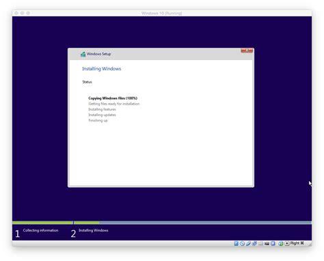 install windows 10 rtm windows 10 rtm in virtualbox