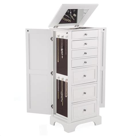 jewelry armoire chest home styles naples lingerie chest jewelry armoire ebay