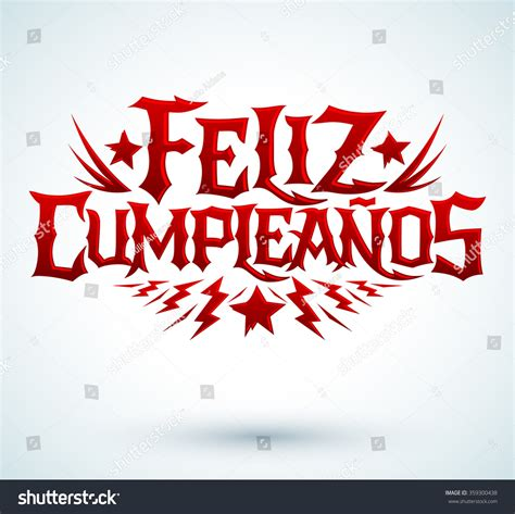 imagenes feliz cumpleaños rock feliz cumpleanos happy birthday spanish text vector