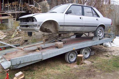 remorque porte voiture hydraulique occasion