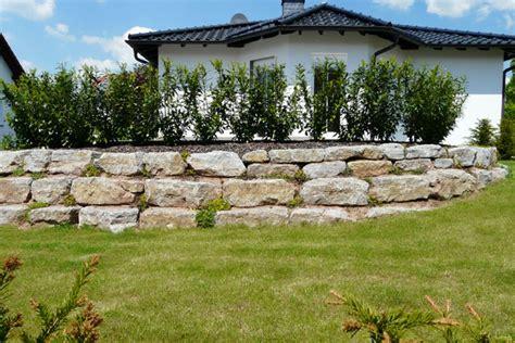 steine für feuerschale landschaftsbau hoffmann trockenmauern