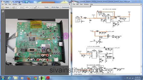 check dead led tv motherboard step  step youtube