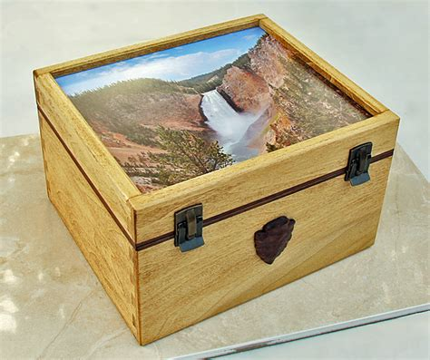 Souvenir Box by Yellowstone Souvenir Box Finewoodworking