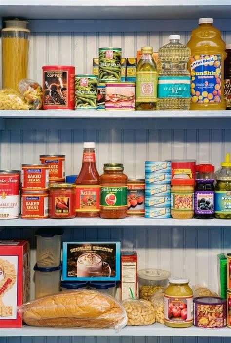 pantry basics  staples standard kitchen supplies