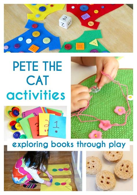 Pete The Cat Groovy Buttons pete the cat and his four groovy buttons activities