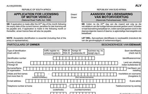 Credit Application Form For Edgars Application Form For Renewal Of Motor Vehicle License Disc