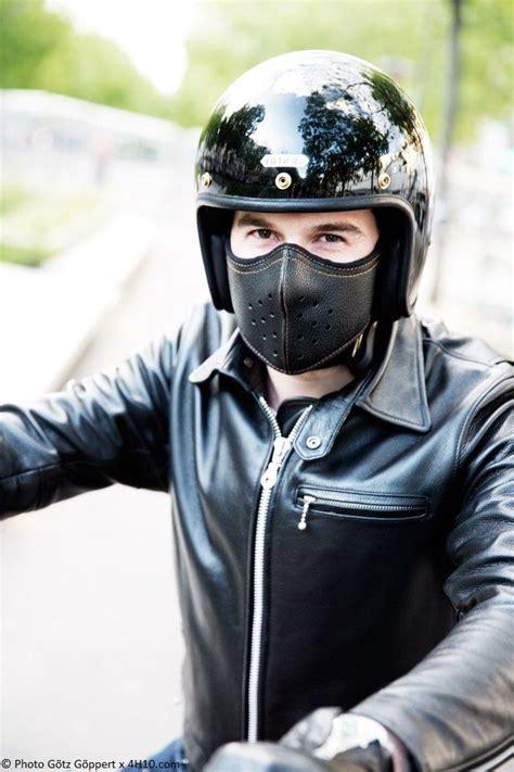 Buff Masker Motif Harley Davidson slim leather mask by 4h10 edition limit 233 e biker leather