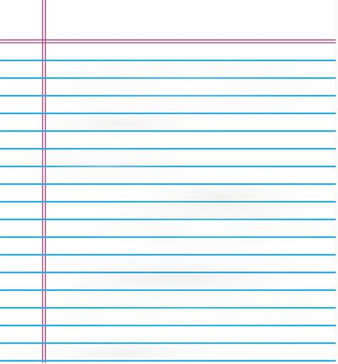free clipart lined paper download free notebook paper vector illustration