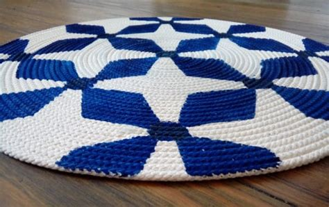 Bedruckter Teppich