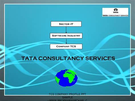 design consultancy company profile tcs company profile presentation sle