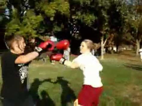 female backyard boxing best female backyard boxer ever