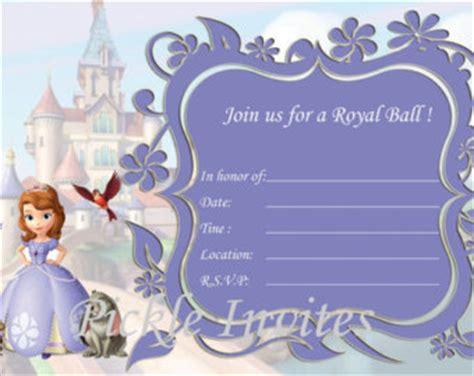 sofia the first birthday invitations orionjurinform com